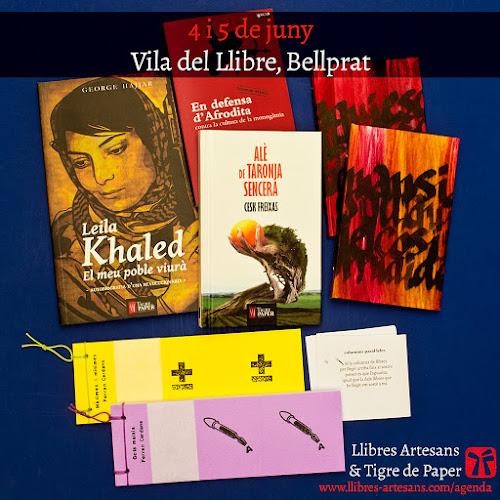 ELlibres Artesans de Ferran Cerdans Serra i Tigre de Paper Edicions