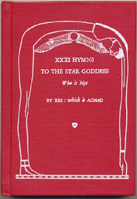 Cover of Benjamin Rowe's Book XXXI Hymns To The Star Goddess