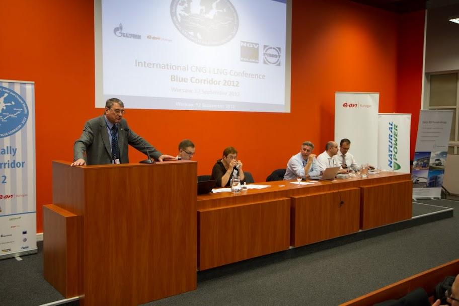Uroczystego otwarcia Konferencji Blue Corridor 2012 dokonał Bogusław Pijanowski, Dyrektor PIMOT