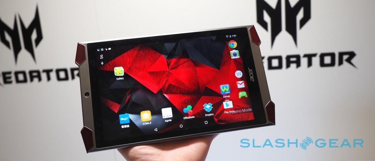 Cận cảnh Acer Predator 8 GT-810, tablet dành cho game thủ