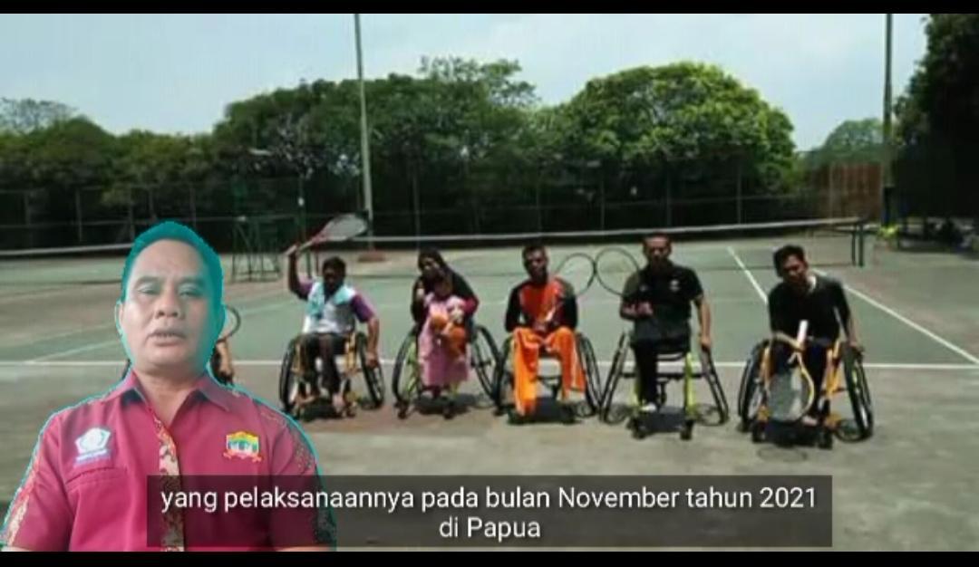 Kapolda Banten Irjen Pol Dr. Rudy, Fasilitasi Lapangan Tenis Untuk Disabilitas