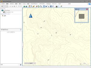 BaseCamp 自作地図の等高線に途切れがある