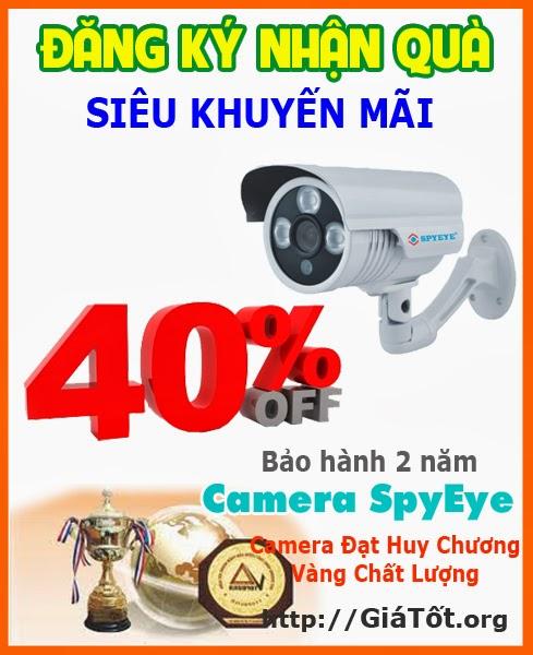 Khuyến mại camera quan sát SpyEye