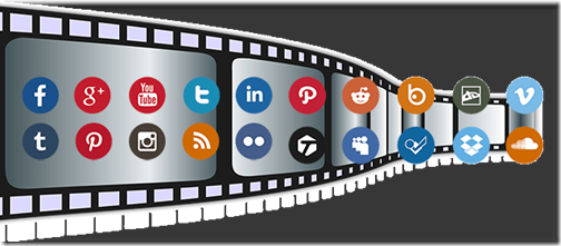 Videos corporativos o de marketing en las redes sociales.