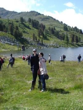 Festival Cor des Alpes - Nendaz 2007 - Nicolas et Lei  - Lac Tracouet
