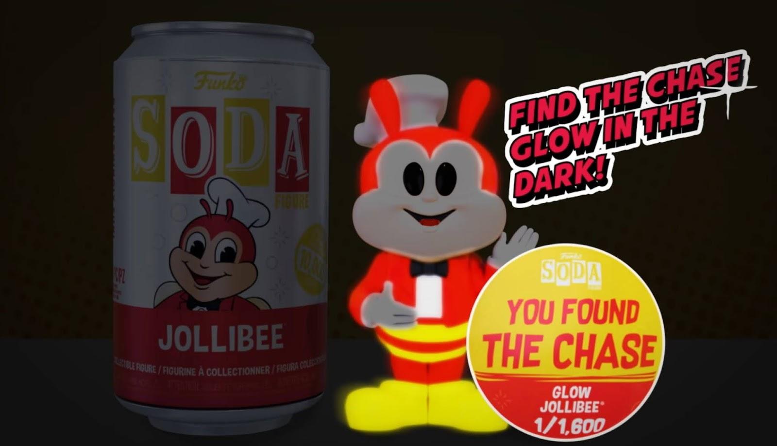 Jollibee Funko SODA Chase Variant 1/1600