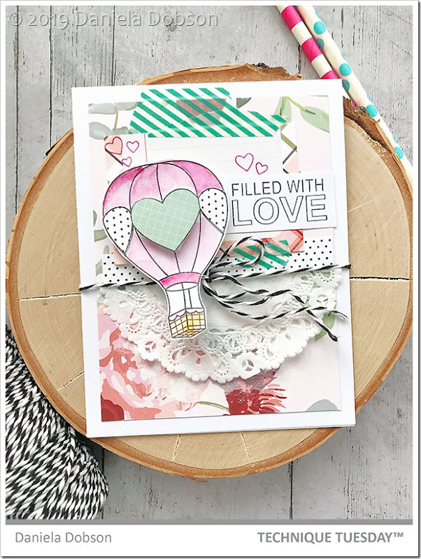 Filled with love by Daniela Dobson