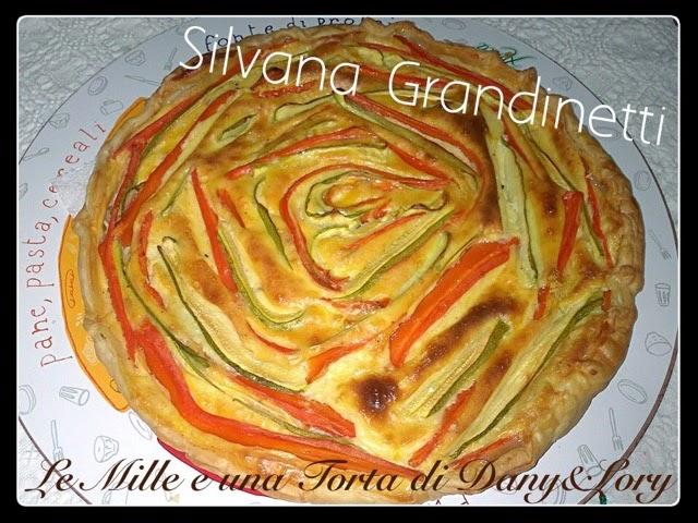 Pizza rustica con carote e zucchine