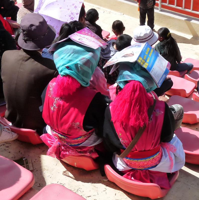 Chine. Yunnan.Shangri la Course hippique annuelle - P1250726.JPG