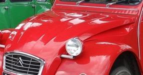 Citroën 1960 2 CV capot 5 nervures