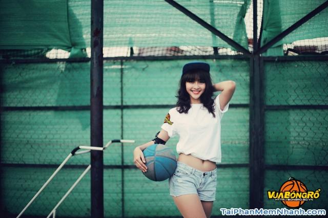 gái xinh game vua bóng rổ 2