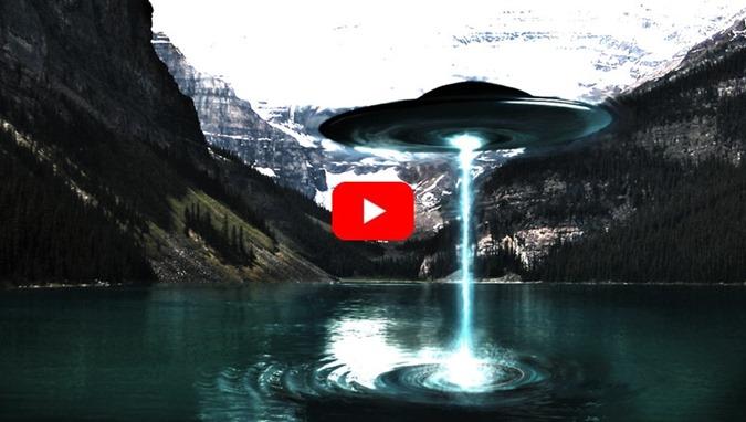 OVNIs podem sugar a água dos lagos e mares