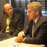 Com a diretoria do CDL-Porto Alegre e Vereador Idenir Cecchim