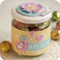 9 - sizzix big shot - jar - packaging - easter - pasqua fustelle