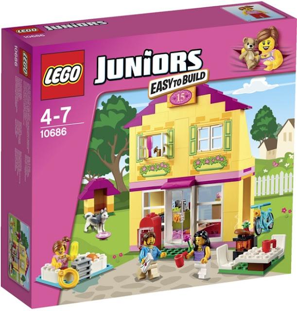 sĐồ chơi xếp hình Lego Juniors10686 Nhà ở gia đình Family House