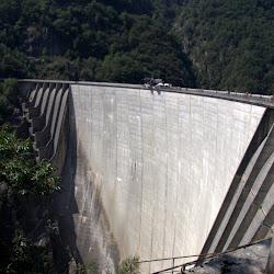 Bungee am Lago di Vogorno