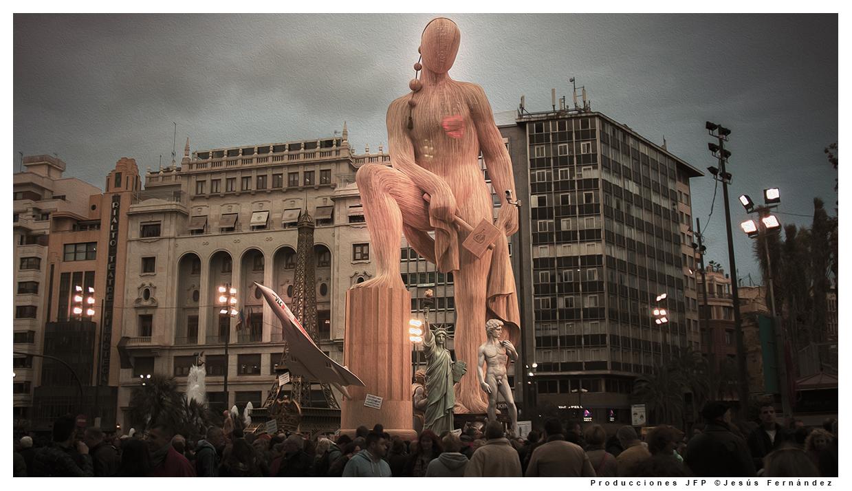 Falla Plaza del Ayuntamiento Valencia 2016