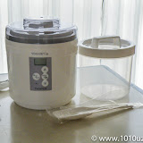 TANICA ヨーグルティア スタートセット ホワイト YM-1200-NW