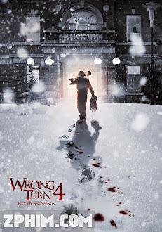 Ngả Rẽ Tử Thần 4: Cuộc Đẫm Máu Bắt Đầu - Wrong Turn 4: Bloody Beginnings (2011) Poster