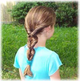 Peinados Y Trenzas Hairstyles Hermoso Peinado Para Nina De Pelo Largo