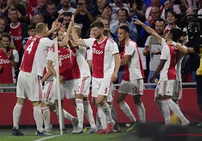 L'Ajax sanctionné pour le comportement de ses supporters en Ligue des Champions