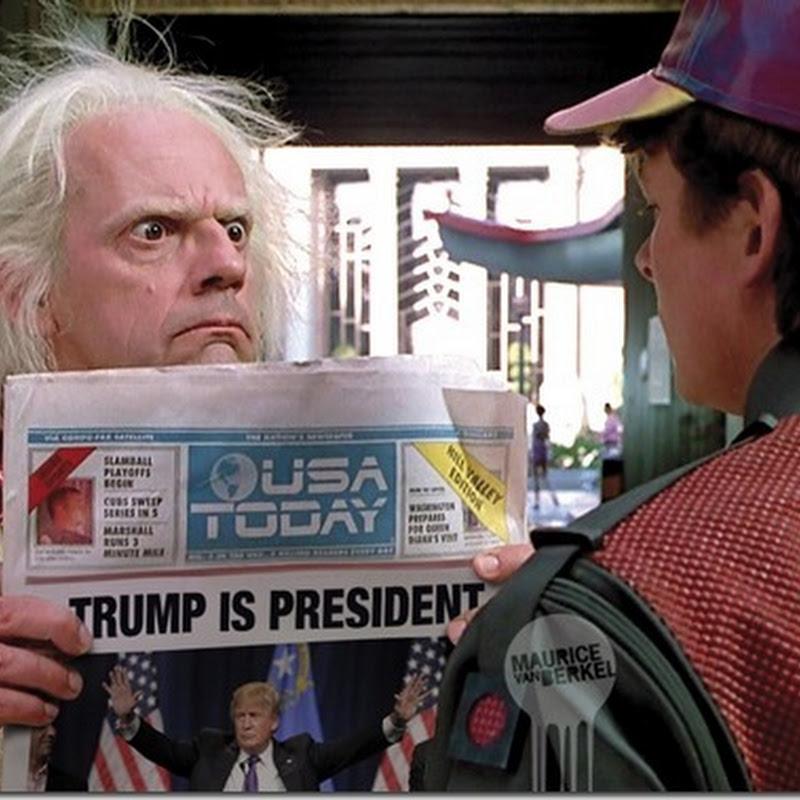 Humor Donald Trump como presidente de los Estados Unidos