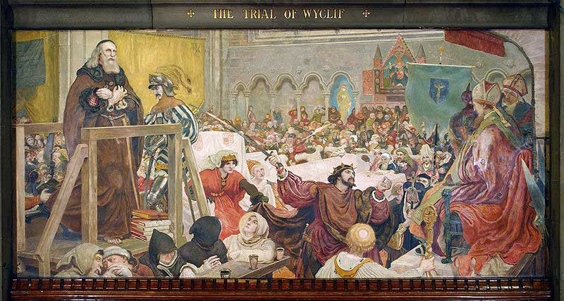The Trial of Wycliff, 1377