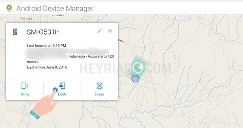 Salah satu trik jago yang bisa dilakukan oleh pengguna smartphone Android ialah  Cara Mengunci Android Dari Jarak Jauh
