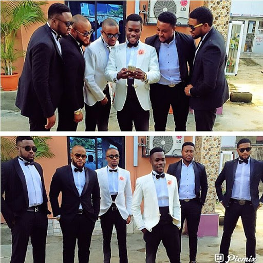 The casts of Nollywood Movie The 4Brothers