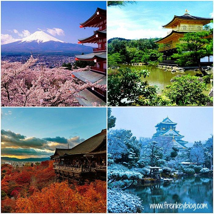 Musim Semi, Panas, Gugur, Dingin di Jepang