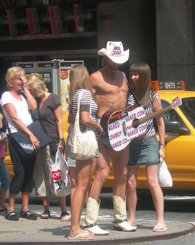 curiosità a Times Square di seria