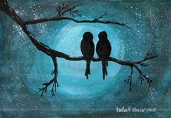476 Two Birds in Night