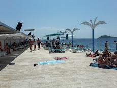 Beach front in Split