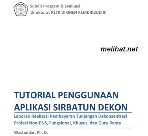 Tutorial Aplikasi SIRBATUN Transfer 2015