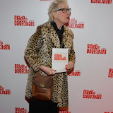 WWW.ENTSIMAGES.COM -   Jenny Eclair     arriving at     Made In Dagenham - press night at Adelphi Theatre London November 5th 2014Comedy musical based on the hit British film.                                                  Photo Mobis Photos/OIC 0203 174 1069