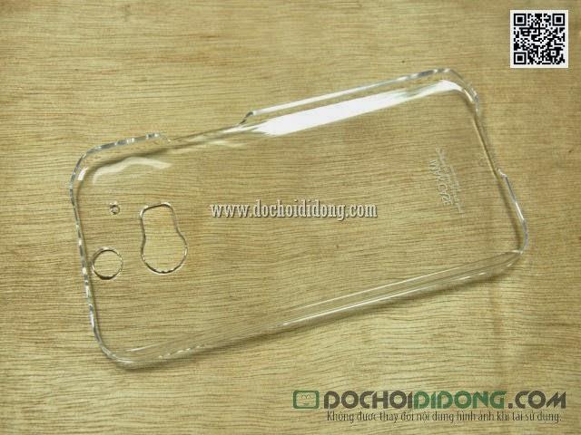 Ốp lưng HTC One M8 Imak Nano trong suốt