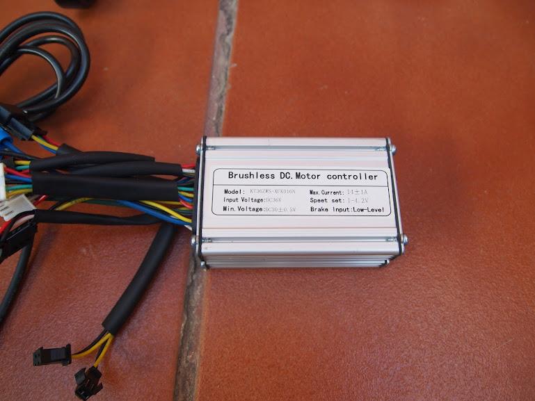 """Vendido Kit Mxus trasero 350w 36v rueda 26"""" doble pared para discos y Vs con pantalla, controlador, PAS, manetas y acelerador P7029790"""