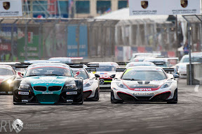 The City Challenge drew a lot of interest from GT1 World teams  (Photo - Baku City Challenge)
