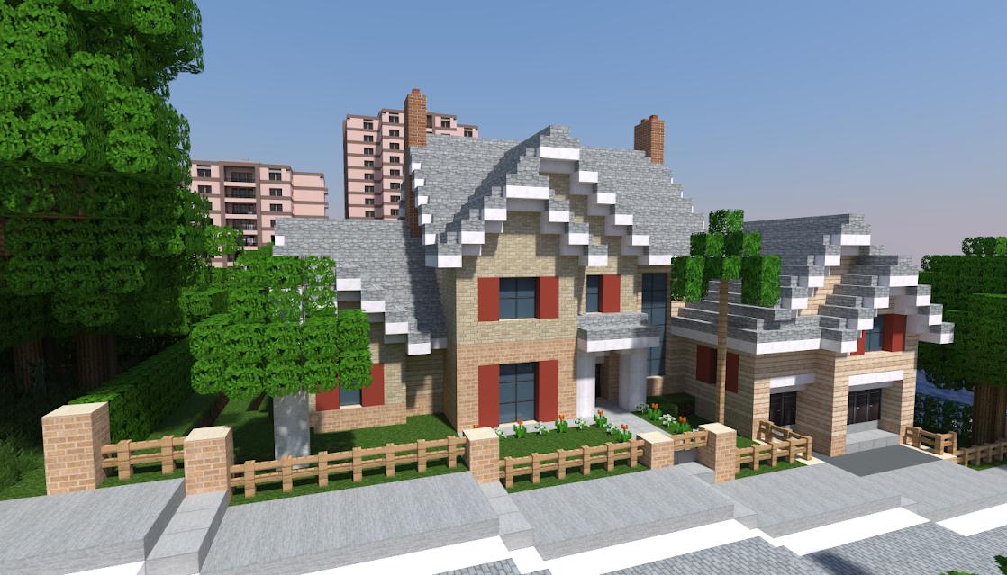 Galerie hd eilmont construction r aliste d 39 une ville contemporai - Maison architecte minecraft ...