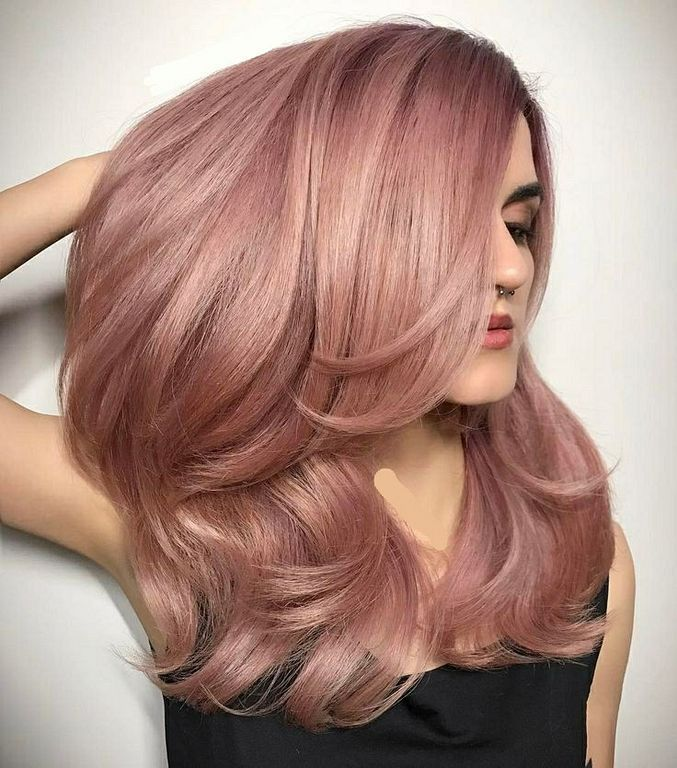 Charming Rose Gold Hair Color Ideas 2018 For Women Styles Art