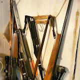 our three rifles