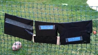 Tarp Tent - Adhesive test
