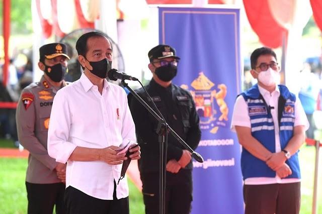 16.279 Pelajar Disuntik Vaksin di 25 Titik, Presiden Jokowi Tinjau di Kebun Raya Bogor