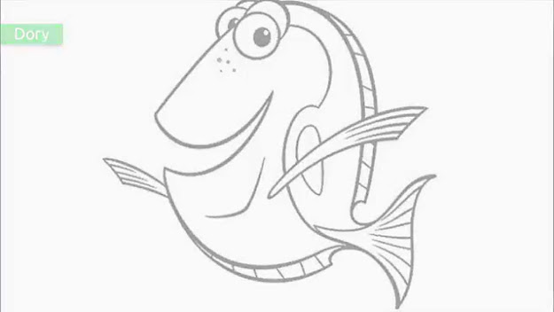 Top  Free Printable Finding Nemo Coloring Pages