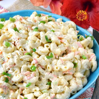 Authentic Hawaiian Macaroni Salad