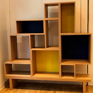 Mondrian-Inspired Modular Shelving