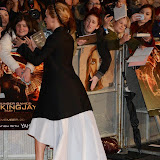 WWW.ENTSIMAGES.COM -     Jennifer Lawrence   at      The Hunger Games - Mockingjay - part 1 - UK film premiere at Odeon Leicester Square, London November 10th 2014Premiere of latest film in the Hunger Games franchise, which this time sees Katniss lead a rebellion against the tyrannical and corrupt Capitol.                                              Photo Mobis Photos/OIC 0203 174 1069