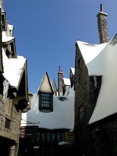 Гарри Поттер в Universal Studios, Голливуд, Лос Анджелес