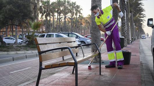 La limpieza intensiva llega este domingo al barrio de Los Molinos