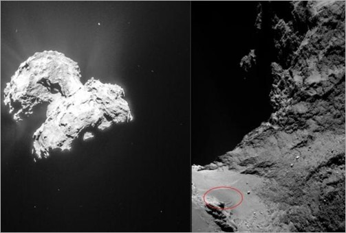Astronomers-explain-unusual-dune-like-patterns-on-comet-67P